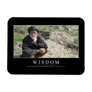 Wisdom: Inspirational Quote 1 Magnet