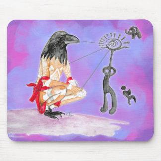 Wisdom is sacred communion mouse pad