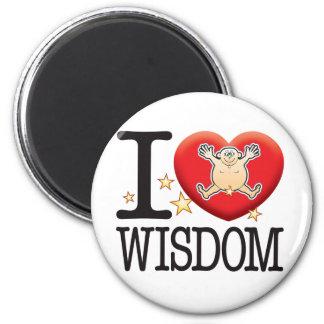 Wisdom Love Man Magnet