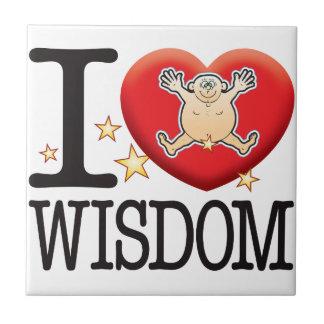 Wisdom Love Man Tile