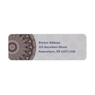 Wisdom Mandala • Avery Label
