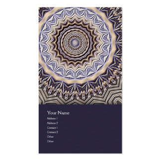 Wisdom Mandala Business Card