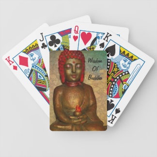 Wisdom Of Buddha, Bicycle Playing Cards