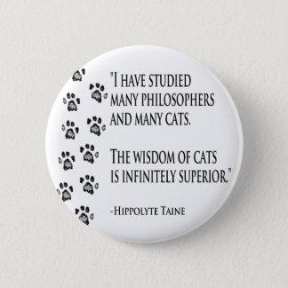 Wisdom of Cats Button