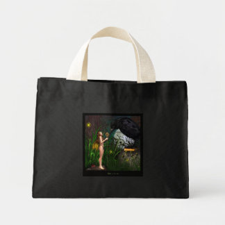 Wisdom of the crow tote bags