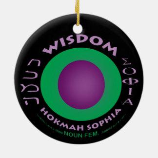 Wisdom Ornament 1