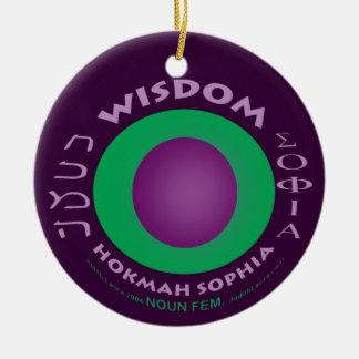 Wisdom Ornament 2