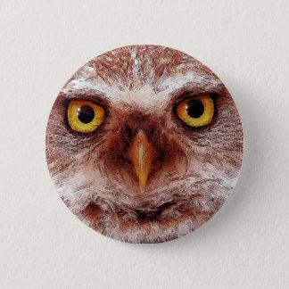 WISDOM OWL BUTTON