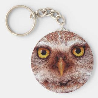 WISDOM OWL KEYCHAIN