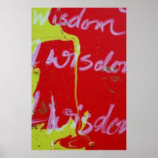 """Wisdom"" Poster"