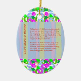 WISDOM QUOTE BIBLE xmas christ holidays festival Christmas Tree Ornaments