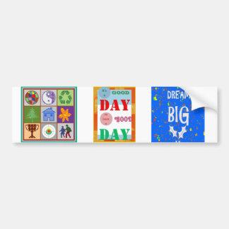 Wisdom Quote GoodDay GOOD DAY Fun Gifts Car Bumper Sticker
