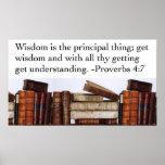 Wisdom Quote Poster