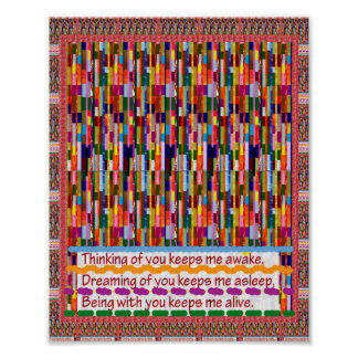 Wisdom Quote Text Love Wall decoration FineArt