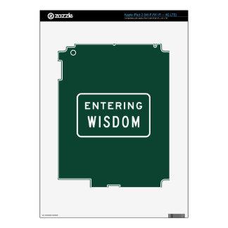 Wisdom, Road Marker, Montana, US iPad 3 Decals