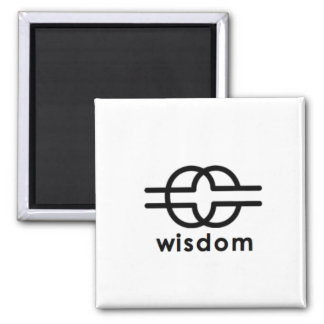 Wisdom Square Magnet