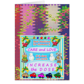 Wisdom Text : Human Care n Love Card