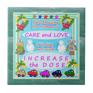 Wisdom Text : Human Care n Love Tiles
