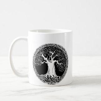 Wisdom Tree (large image version on back) Classic White Coffee Mug
