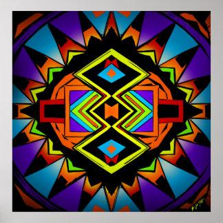 Wisdom Wheel Poster by Nathan Jalani Taylor