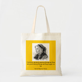 wisdom words: Harriet Beecher Stowe Tote Bag