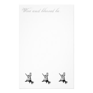 wise and blessed be.. stationery