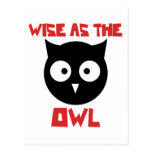 Wise as the Owl Post Cards