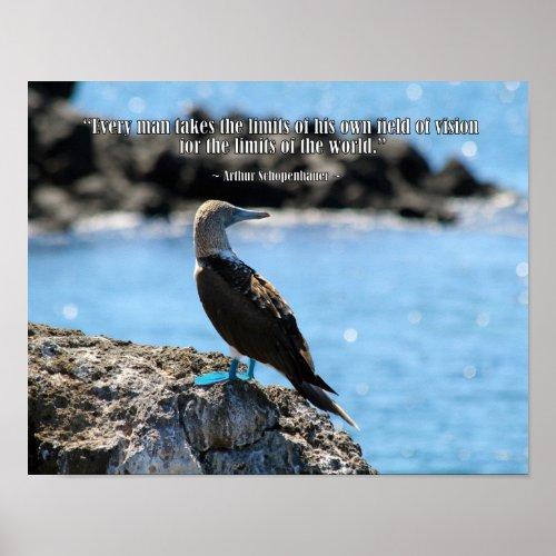Wise Bird Philosophy Poster