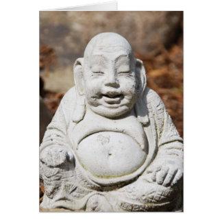 Wise Buddha Card