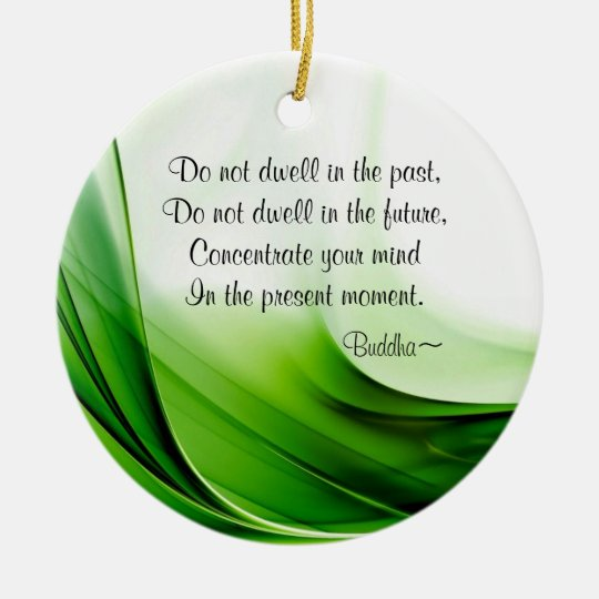 Wise Buddha Quotes Abstract Christmas Ornament - Wise Buddha Quotes Abstract Christmas Ornament Zazzle.com