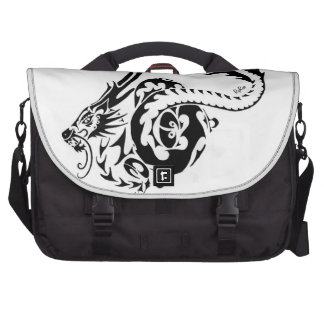 wise celtic Chinese Dragon Bags For Laptop