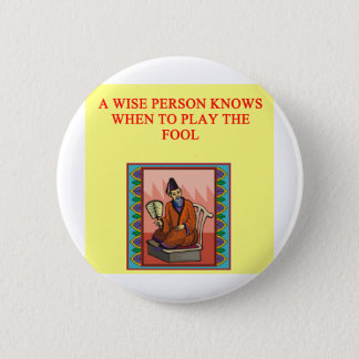 wise chinese proverb button