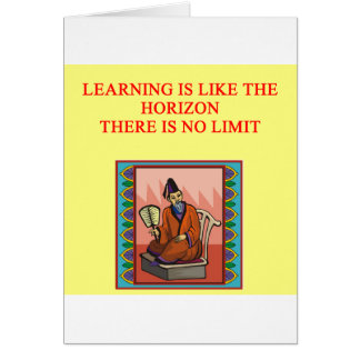 wise chinese proverb card