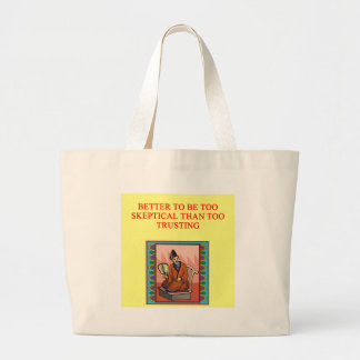 wise chinese proverb large tote bag