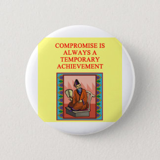 wise chinese proverb pinback button