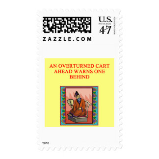 wise chinese proverb postage