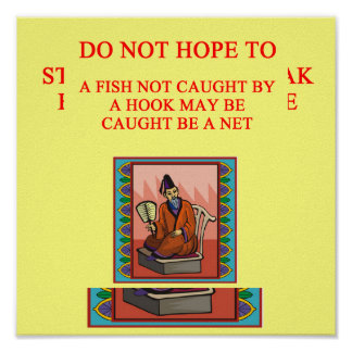 wise chinese proverb, wise chinese proverb poster