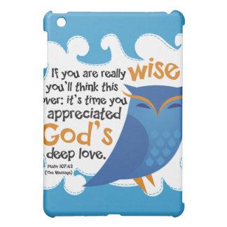 Wise Christian Owl iPad Case
