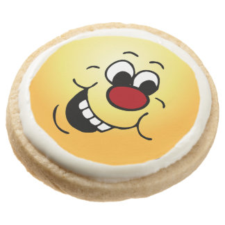 Wise Face: Work on minimizing your HR impact Round Shortbread Cookie