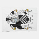 Wise Family Crest Hand Towel
