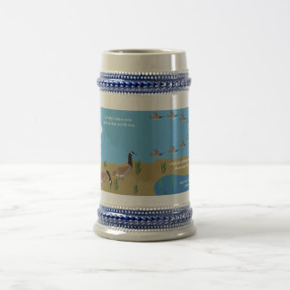 Wise Father's Love Beer Stein