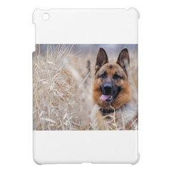 Case Savvy iPad Mini Glossy Finish Case with German Shepherd Phone Cases design