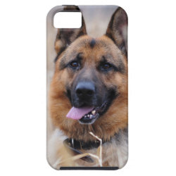 Case-Mate Vibe iPhone 5 Case with German Shepherd Phone Cases design
