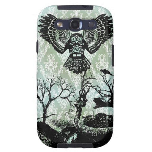 Wise Guy. Creepy Owl Products. Galaxy S3 Cover
