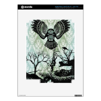 Wise Guy. Creepy Owl Products. iPad 3 Skin