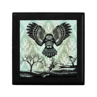 Wise Guy. Creepy Owl Products. Jewelry Box