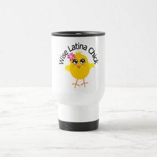 Wise Latina Chick 3 Mugs
