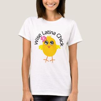 Wise Latina Chick 3 T-Shirt