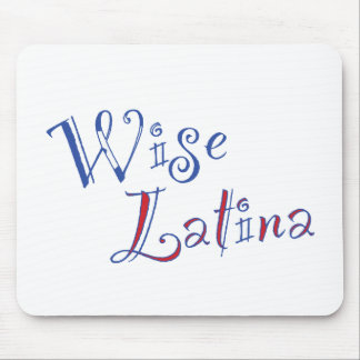 Wise Latina Mouse Pad (PR)