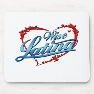 Wise Latina Mouse Pad